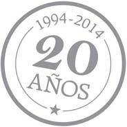 XX Aniversario, 20 años innovando | XX Anniversary, 20 years innovating